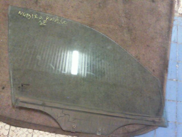 DAEWOO NUBIRA 99-03 Jobb első lejáróüveg / zöld / kombi / bontott alkatrész