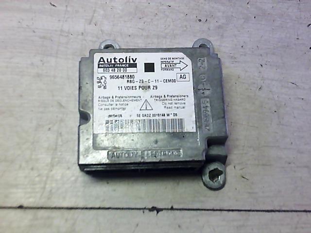 PEUGEOT 607 Légzsákvezérlő elektronika bontott alkatrész