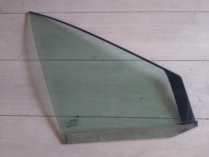 RENAULT SCENIC 03-06 Fixüveg jobb első ajtóban bontott alkatrész