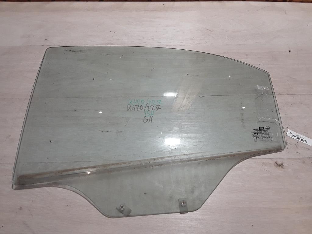 CHEVROLET AVEO T250/255 06.01-11.12 Bal hátsó lejáró üveg bontott alkatrész