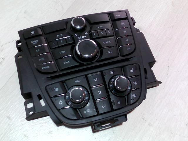 OPEL Astra J/1 2009.09.01-2012.08.31 Multifunkciós vezérlő bontott alkatrész