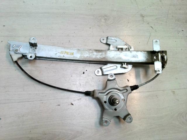 NISSAN ALMERA 96-98 Jobb hátsó ablakemelő szerkezet mechanikus bontott alkatrész
