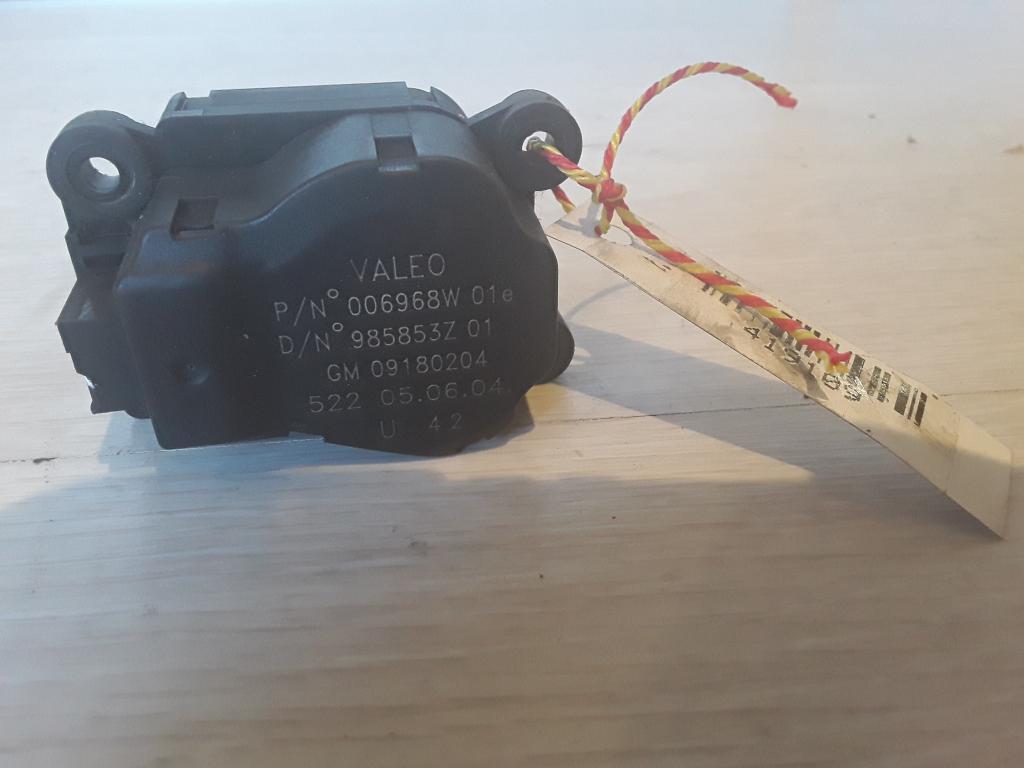 VECTRA C 01-05 Bontott Zsalu mozgató motor Alkatrész