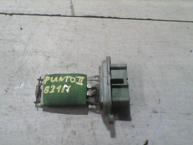 FIAT PUNTO II. Fűtőmotor előtét ellenállás bontott alkatrész