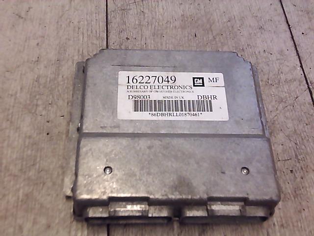 OPEL ASTRA G 97-04 Hűtőventilátor vezérlő elektronika bontott alkatrész
