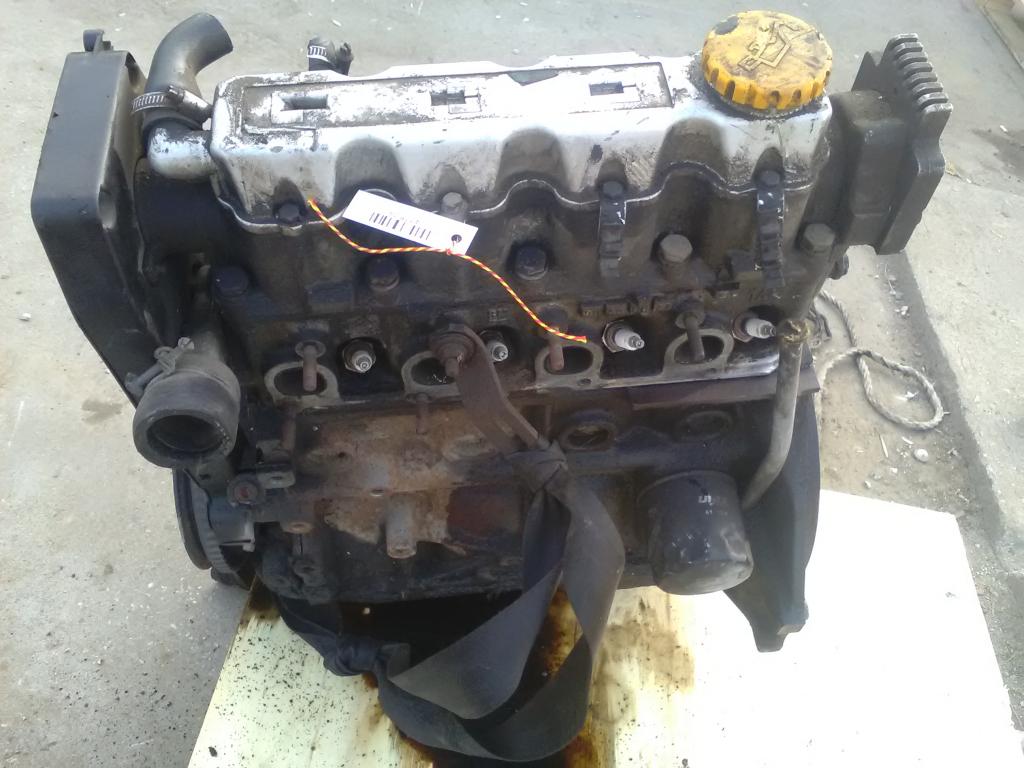 OPEL ASTRA F 91-94 Motor.benzin fűzött blokk hengerfejjel bontott alkatrész