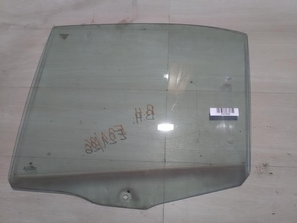 BMW E39 95-03 Bal hátsó ajtóüveg bontott alkatrész
