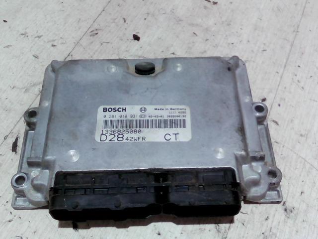 PEUGEOT BOXER 02-06 Motorvezérlő egység ecu pcm modul bontott alkatrész