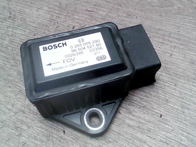 PEUGEOT 307 01-05 Esp vezérlő menetstabilizátor modul bontott alkatrész