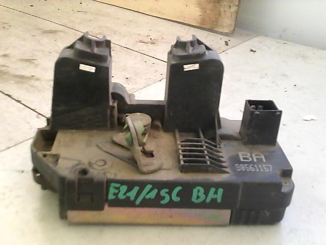 OPEL ASTRA G 97-04 Bal hátsó ajtó zárszerkezet központi záras bontott alkatrész