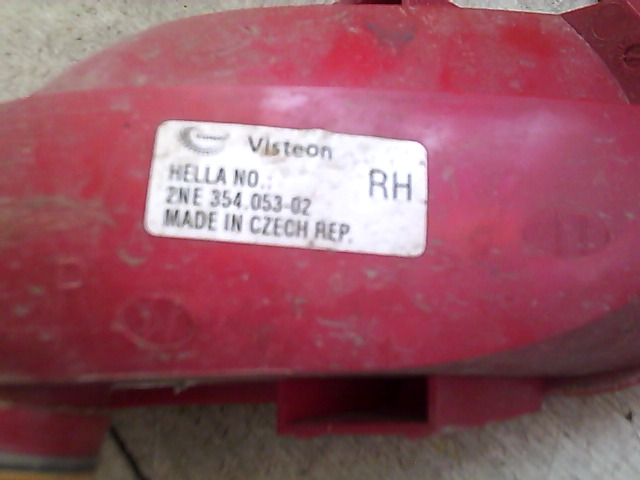 CITROEN C4 2008.10.01-2010.09.30 Hátsó ködlámpa  bontott alkatrész