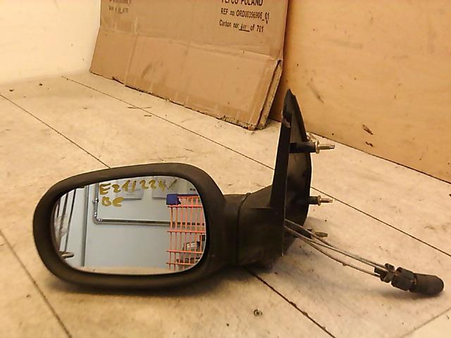 CLIO 90-96 Bontott Bal visszapillantó tükör mechanikus Alkatrész