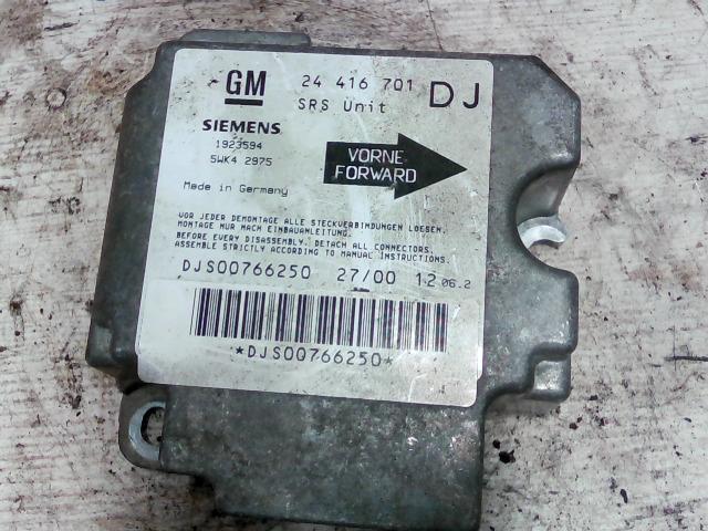 OPEL VECTRA B 99-01 Légzsák indító elektronika bontott alkatrész